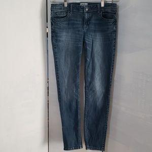 "Aeropostale ""bayla skinny "" ladies denim jeans"